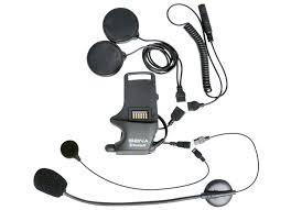 PANTALONES VAQUEROS PARA MOTO - Kit de Abrazadera para Casco - para Altavoces and auriculares con Micrófono de brazo aco