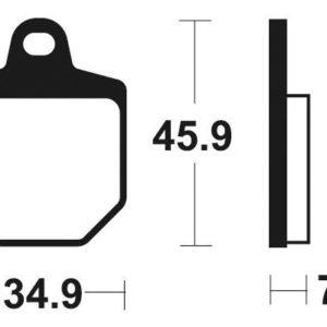 HM MOTO - Pastillas de freno sinterizadas de competición Brembo 07GR76RC -