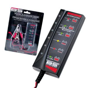 PARA TU MOTO UNIVERSAL - Tester bateria BS Charger BT-02 -