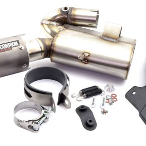 HONDA - Escape Scorpion RP1GP Honda CBR 1000RR (12-) Titanio/Titanio -