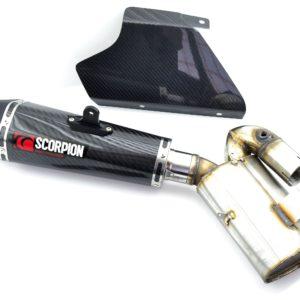 HONDA - Escape Scorpion Serket Honda CBR 1000RR (08-11) Carbono Cónico sistema completo -