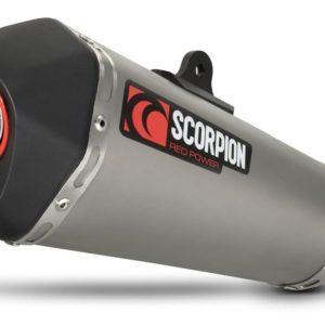 HONDA - Escape Scorpion Serket Honda CBR 1000RR (08-11) Titanio Cónico sistema completo -