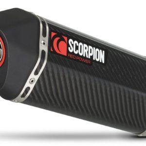 TRIUMPH - Escape Scorpion Serket Triumph Street Triple 675 (07-12) Carbono Paralelo -