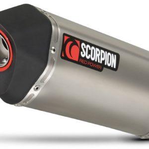 TRIUMPH - Escape Scorpion Serket Triumph Street Triple 675 (07-12) Titanio Paralelo -
