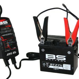 PARA TU MOTO UNIVERSAL - Cargador bateria BS Battery BS15 1,5 AH -