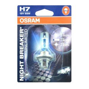 PARA TU MOTO UNIVERSAL - Lampara OSRAM H7 Night Breaker Unlimited -