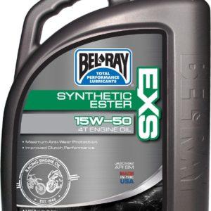PARA TU MOTO UNIVERSAL - Garrafa 4 L Aceite Bel-Ray Motor 4T EXS Full Synthetic Ester 15W-50 -