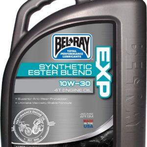 PARA TU MOTO UNIVERSAL - Garrafa 4 L Aceite Bel-Ray Motor 4T EXP Synthetic Ester Blend 10W-30 -