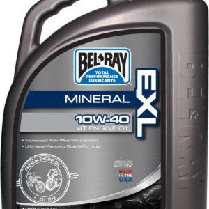 PARA TU MOTO UNIVERSAL - Garrafa 4 L Aceite Bel-Ray Motor 4T EXL Mineral 10W-40 -