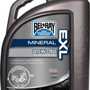 PARA TU MOTO UNIVERSAL - Garrafa 4 L Aceite Bel-Ray Motor 4T EXL Mineral 20W-50 -