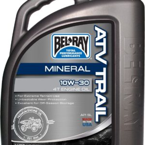 PARA TU MOTO UNIVERSAL - Garrafa 4 L Aceite Bel-Ray Motor 4T ATV Trail Mineral 10W-30 -