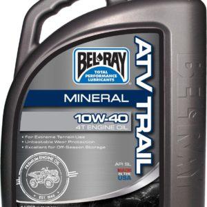 PARA TU MOTO UNIVERSAL - Garrafa 4 L Aceite Bel-Ray Motor 4T ATV Trail Mineral 10W-40 -
