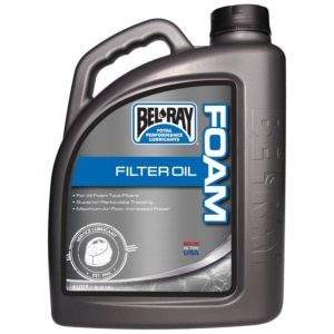 PARA TU MOTO UNIVERSAL - Botella 4 L Bel-Ray Foam Filter Oil -