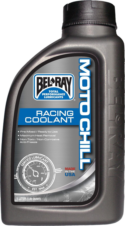 PARA TU MOTO UNIVERSAL - Botella 1 L anticongelante Bel-Ray Moto Chill Racing Coolant -