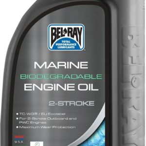 PARA TU MOTO UNIVERSAL - Botella 1 L Aceite Bel-Ray Motor 2T Marine Biodegradable -