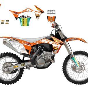 KTM - Kit Adhesivos Blackbird Réplica Team Liebe KTm 2537R3 -