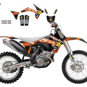 KTM - Kit Adhesivos Blackbird Réplica Team Beursfoon KTm 2537R5 -