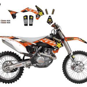 KTM - Kit Adhesivos Blackbird Réplica Team Beursfoon KTm 2538R5 -