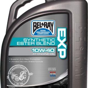 PARA TU MOTO UNIVERSAL - Garrafa 4 L Aceite Bel-Ray Motor 4T EXP Synthetic Ester Blend 10W-40 -