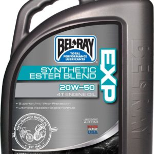 PARA TU MOTO UNIVERSAL - Garrafa 4 L Aceite Bel-Ray Motor 4T EXP Synthetic Ester Blend 20W-50 -