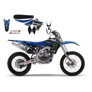 YAMAHA - Kit Adhesivos Blackbird Réplica Team Yamaha 2242R3 -