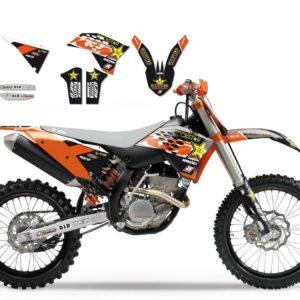 KTM - Kit Adhesivos Blackbird Réplica Team Beursfoon KTm 2527R5 -