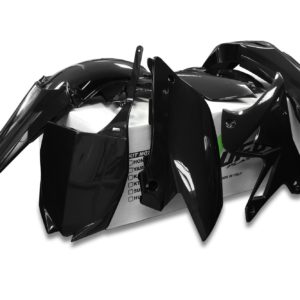 YAMAHA - Kit plástica completo UFO restyling Yamaha negro YAKIT312-001 -