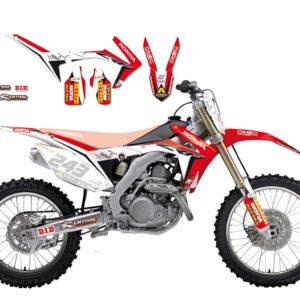 HONDA - Kit Adhesivos Blackbird Réplica team Gariboldi Honda 2145R10 -