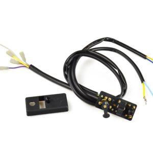 PARA TU MOTO UNIVERSAL - Mando de luces VESPA 149185 PX80/125/150, PX200 (78-83) - 9 cable (12V with indicators, w/o bat