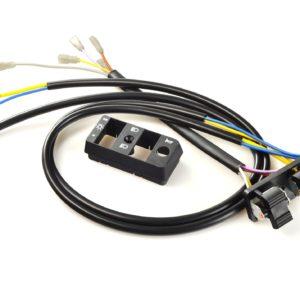 PARA TU MOTO UNIVERSAL - Mando de luces VESPA 215668 PX (since 1984) - 9 cable (mod. Sin bateria) -