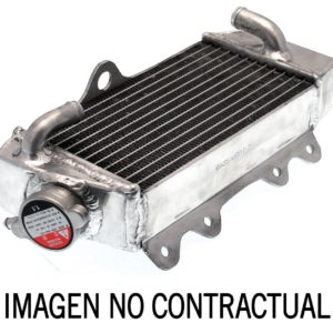 PARA TU MOTO UNIVERSAL - Radiador de aluminio soldado standard lado derecho -