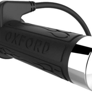 PARA TU MOTO UNIVERSAL - Puntera cromada puños calefactables Oxford Cruiser OF697CC -