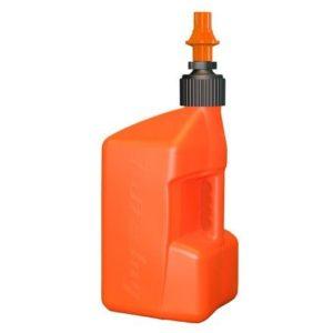 PARA TU MOTO UNIVERSAL - Garrafa Tuff Jug 10L naranja con tapón naranja -