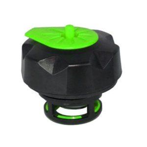 PARA TU MOTO UNIVERSAL - Tapón de gasolina negro/verde especial para garrafa Tuff Jug -
