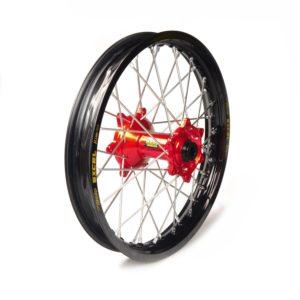 BETA - Rueda completa Haan Wheels aro negro 18-2,15 buje rojo 1 116012/3/6 -