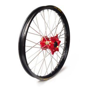 GAS GAS - Rueda completa Haan Wheels aro negro 21-1,60 buje rojo 1 75019/3/6 -
