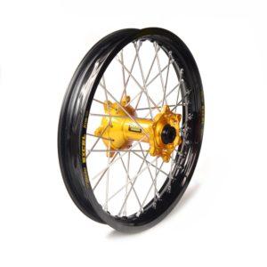 BETA - Rueda completa Haan Wheels aro negro 18-2,15 buje oro 1 116012/3/2 -
