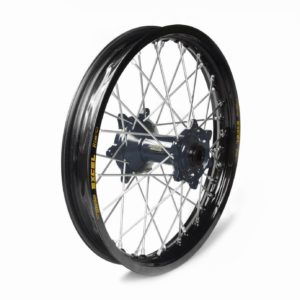 GAS GAS - Rueda completa Haan Wheels aro negro 18-2,50 buje negro 1 76013/3/3 -