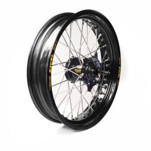 HUSQVARNA - Rueda completa Haan Wheels aro negro 16,5-3,50 buje negro 1 65155/3/3 -