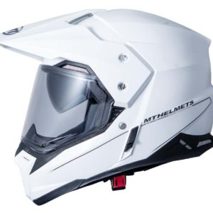 OFF ROAD MT - Casco MT Synchrony Duosport Gloss White -