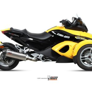CAN-AM SPYDER 1000 IE - Mivv Oval titanio, copa carbono CAN-AM SPYDER 1000 2007+ -