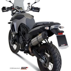 ESCAPES MIVV BMW - Mivv Suono acero inox, copa carbono BMW F 800 GS 2008+ -