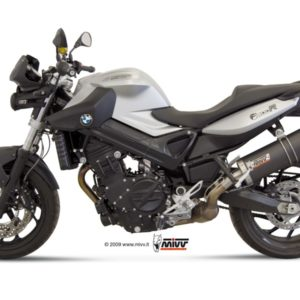 ESCAPES MIVV BMW - Mivv Oval carbono, copa carbono BMW F 800 R (2009 en adelante) -
