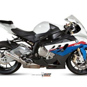 ESCAPES MIVV BMW - Mivv X-cone plus acero (fondo en aluminio) BMW S 1000 RR 2010+ -