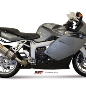 ESCAPES MIVV BMW - Mivv Suono full titanium, copa carbono BMW K 1200 R/S/GT 2005+ -