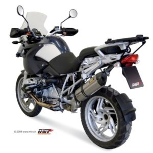 ESCAPES MIVV BMW - Mivv Suono acero inox, copa carbono BMW R 1200 GS 2004-2007 -