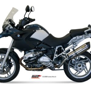 ESCAPES MIVV BMW - Mivv Suono full titanium, copa cónica carbono BMW R 1200 GS 2004-2007 -