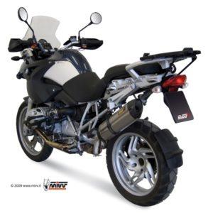 ESCAPES MIVV BMW - Mivv Suono acero inox, copa carbono BMW R 1200 GS 2008-2009 -