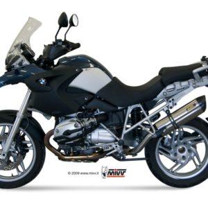 ESCAPES MIVV BMW - Mivv Suono full titanium, copa carbono BMW R 1200 GS 2008-2009 -