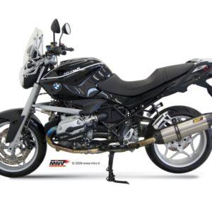 ESCAPES MIVV BMW - Mivv Suono full titanium, copa carbono BMW R 1200 R 2008-2010 -